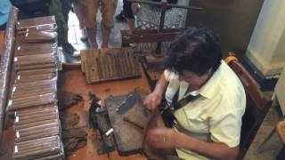 Küba Puro yapımı Havana