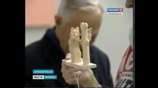 В Архангельске презентовали историко-культурный проект для незрячих и слабовидящих северян