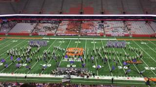 Kingston Tiger Marching Band Syracuse 2016