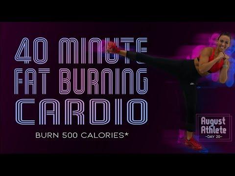 40 Minute Fat Burning Cardio Workout 🔥Burn 500 Calories!* 🔥Sydney Cummings