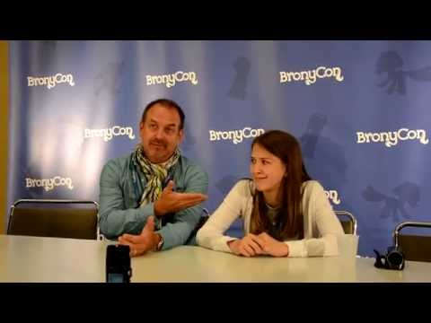 Bronycon 2014 - Ian & Claire Corlett Press Conference
