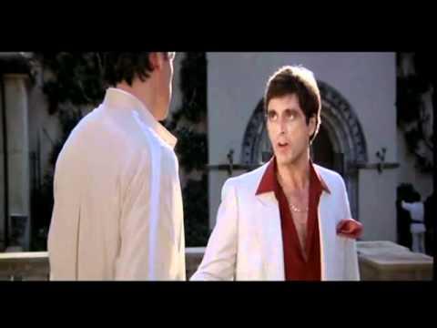 Scarface 1983 Clip Tony Montana Talking To Alberto Sosa Youtube