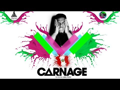 LIFE IN COLOR #CARNAGE#PERU 2014 set completo #13 de diciembre#
