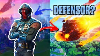 IS THE VISITOR GOING TO SAVE THE MAP? -FORTNITE