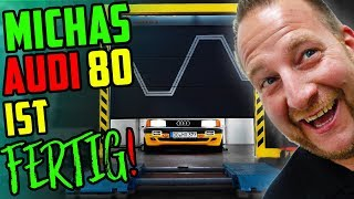 MICHAS Auto ist FERTIG! - Audi 80 Typ 89 - Felgen, Fahrwerk, Folie, PREISE!