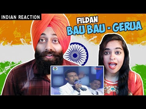 Indian Reaction on Fildan, Bau Bau - Gerua | D'Academy 4 Konser