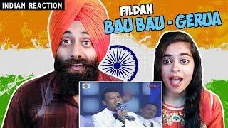 Indian Reaction on Fildan, Bau Bau - Gerua  D'Academy 4 Konser