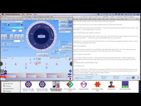 Bounce for Mac Beta   Bounce Metronome Pro for Your PC, Laptop or