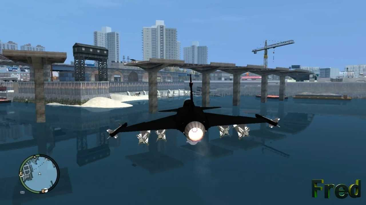 Gta Iv Hydra Jet Plane Monster Truck Hd 1080p Youtube