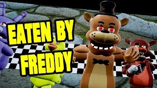 EATEN BY FREDDY Hello Neighbor Mod (Five Nights at Freddys Secret)