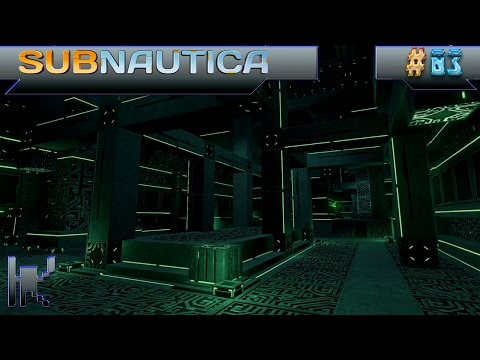 Let's Play Subnautica - Episode 3: First Contact With A Precursor Facility!!