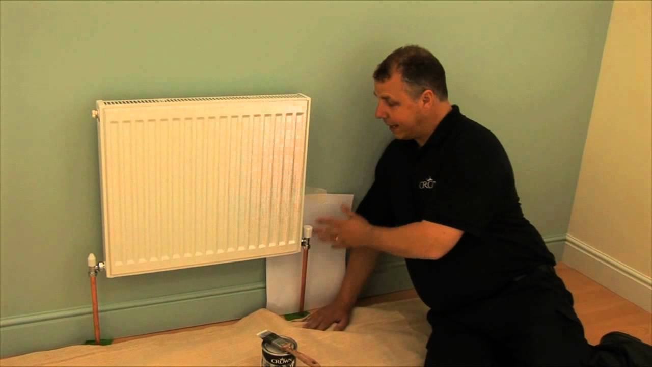 how to paint radiator pipes crown paint youtube. Black Bedroom Furniture Sets. Home Design Ideas