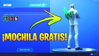 HOW TO GET THIS *EXCLUSIVE MOCHILA* FREE IN FORTNITE!! (Crystal Flame)