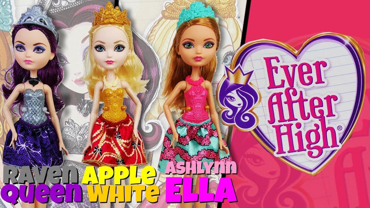 Raven Queen Apple White and Ashlynn Ella Basics from Ever ...
