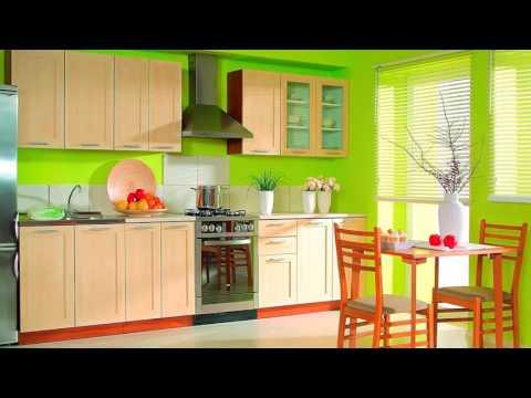 идеи для интерьера кухни в зеленых тонах фото