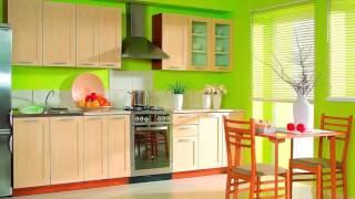 видео Дизайн зелёной кухни