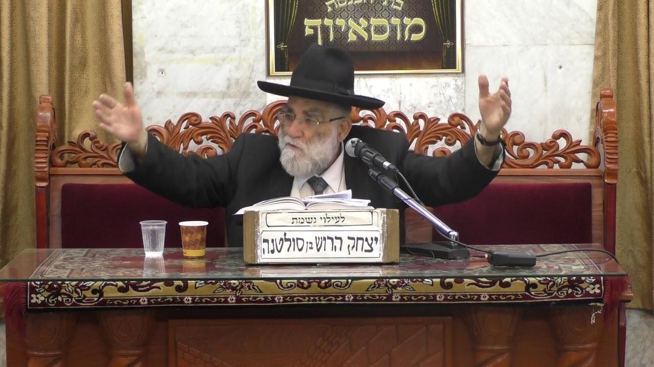 הרב יוסף אלנקרי פרשת חוקת התשעח עמידה בנסיונות