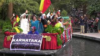 Diwali 2017- San Antonio downtown - River parade - state of Karnataka