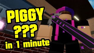 ROBLOX PIGGY BOOK 2 NEW UPDATE SECRET BADGE 1 MINUTE