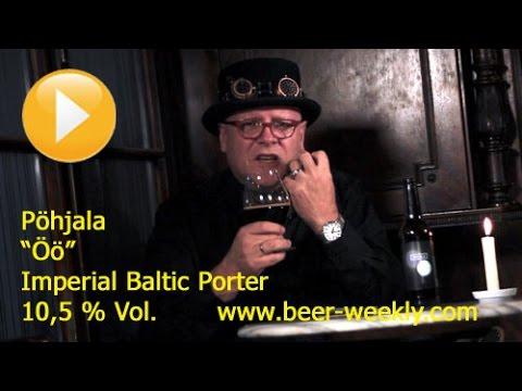 "#117 ""Pöhjala / Öö"" (Style: Imperial Baltic Porter) - English"