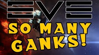 EVE Online: How my very first livestream went (SO MANY GANKS!)