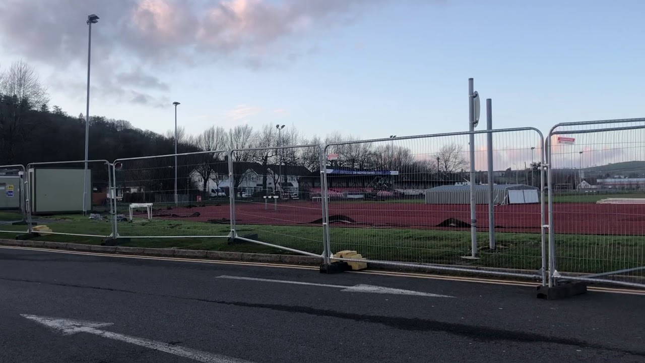Carmarthen Track Development - May 2020
