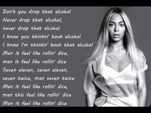 Beyoncé - 7/11 (lyrics)