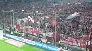 ultras support zusammenschnitt   fortuna dsseldorf vfb stuttgart   12 08 16 f95