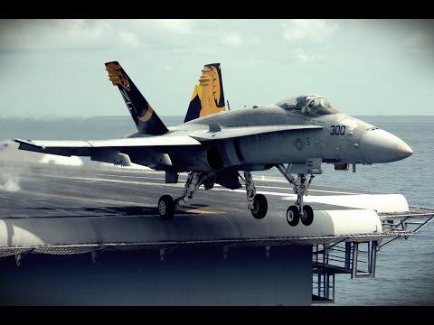 Lotnictwo morskie - F18 Hornet