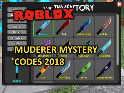 murder mystery 2 how to get flames knife