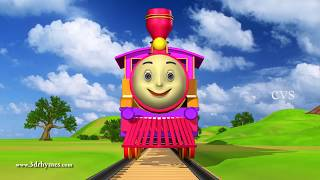 Engine Engine Number 9  - 3D Animation English Nursery rhyme for children thumbnail