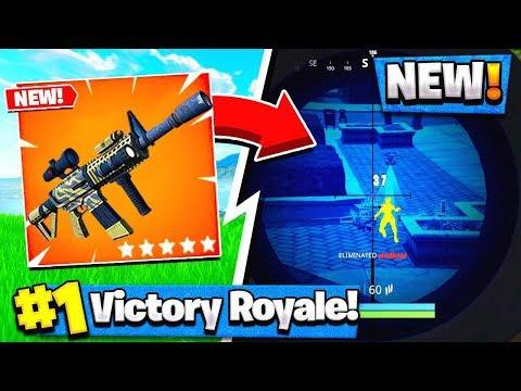*NEW* Fortnite THERMAL-SCOPED AR GAMEPLAY! - Fortnite Battle Royale
