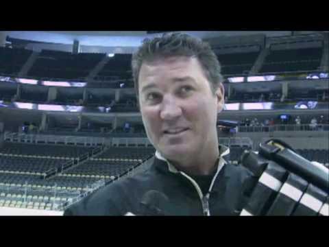 Mario Lemieux & Sidney Crosby Skate On Consol Energy Center