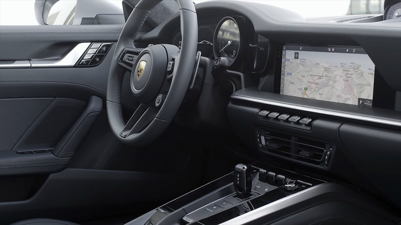 2019 Porsche 911 Carrera 4s Interior 992 Youtube