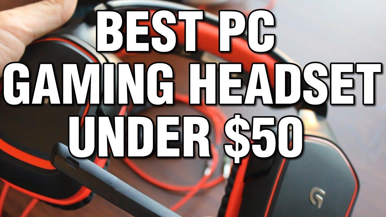 best pc gaming headset under 50 youtube. Black Bedroom Furniture Sets. Home Design Ideas