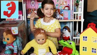 Как настоящий ребёнок Silicone Baby doll Лиза покупатель в Магазине Игрушек