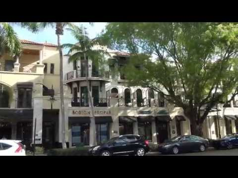 A Quick Walking Tour of Beautiful Downtown Naples FL
