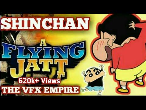 Shin Chan as A Flying Jatt | A Flying Jatt...