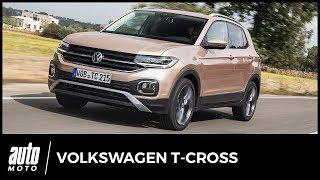 Essai Volkswagen T-Cross : Cross défi