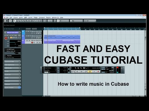 How to write music in Cubase [Easy Tutorial]