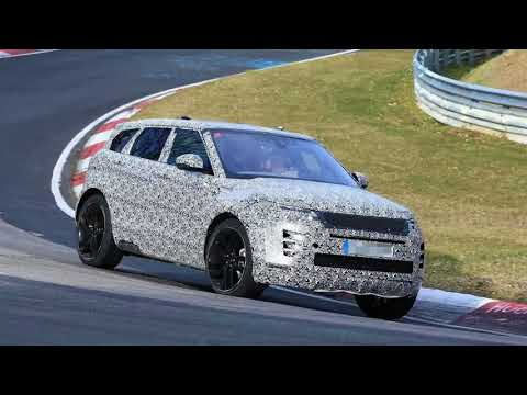 2020 Range Rover Evoque Spied Lapping the Nurburgring, SVR Version Rumored  | Video 332