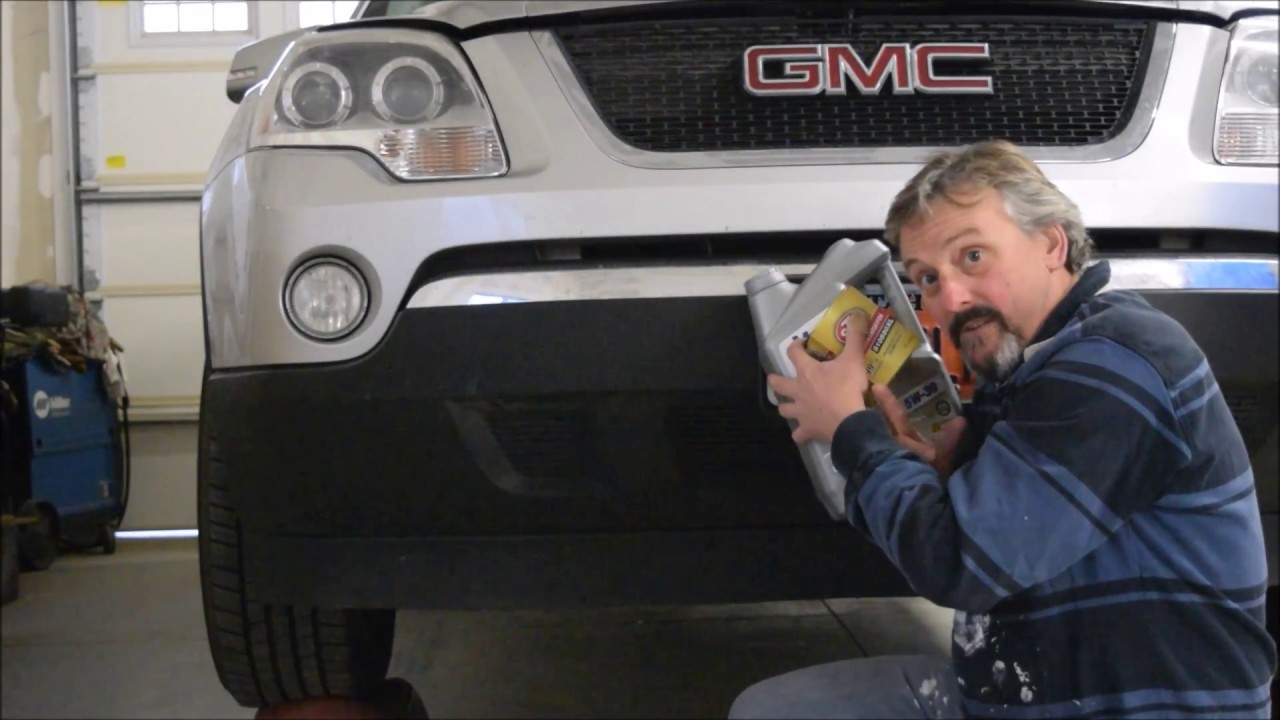 2011 Gmc Acadia Oil Change Same Goes For The Chevy Traverse Saturn Outlook And The Buick Enclave Youtube