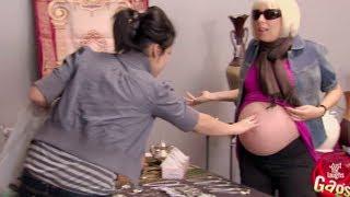 امرأة حامل لكنها لصّة!