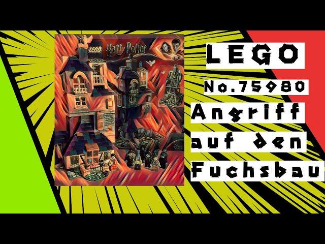 Lego® No. 75980 Harry Potter Angriff auf den Fuchsbau - Im großen und ganzen ein schönes Set...