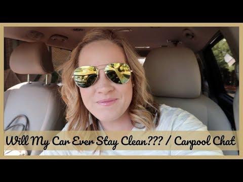 Mini Van Organization | The Real Deal | Carpool Chat