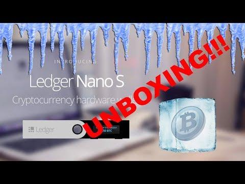 Ledger Nano S Unboxing!!! Crypto Cold Storage, Brrrr!!!!