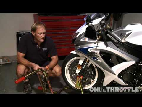 Sportbike Front Stands And Jack Stands Youtube