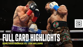 FULL CARD HIGHLIGHTS |  Demetrius Andrade vs. Liam Williams