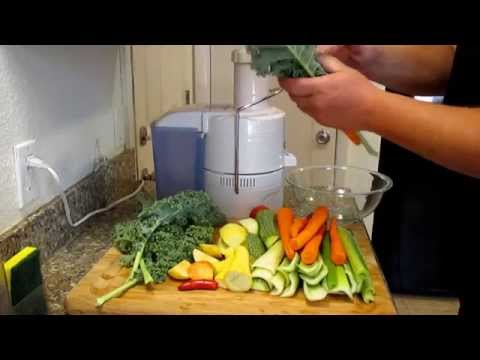 Homemade V8 Juice Using Fresh  Ingredients From The Garden