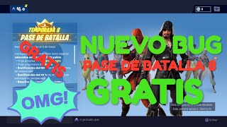 "NUEVO BUG || PASE DE BATALLA ""GRATIS"" de la TEMPORADA 8 